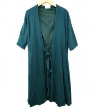 ef-de(エフデ)の古着「ラップコート」|グリーン
