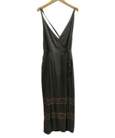 fig London(フィグロンドン)の古着「キャミソールワンピース」|グレー