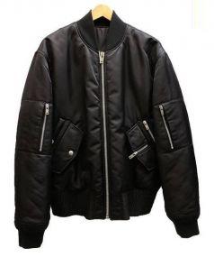 Martin Margiela 10(マルタンマルジェラテン)の古着「リバーシブルMA-1ブルゾン」|ブラック