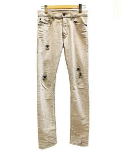 DIESEL(ディーゼル)の古着「TEPPHAR SLIM CARROTデニム」|ライトグレー