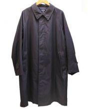 ORCIVAL(オーシバル)の古着「ナイロンタフタステンカラーコート」|ネイビー