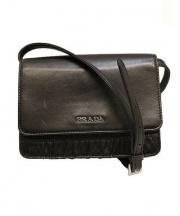 PRADA(プラダ)の古着「ショルダーウォレット」|ブラック