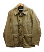 DAILY WARDROBE INDUSTRY(デイリーワードローブインダストリー)の古着「オイルドフィールドジャケット」|カーキ