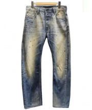 DIESEL(ディーゼル)の古着「BRAVEFORT デニムパンツ」|インディゴ