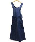 fig London(フィグロンドン)の古着「デニムワンピース」|インディゴ