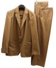 Adam et Rope(アダム エ ロペ)の古着「CARREMANライトセットアップスーツ」|キャメル