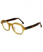 Buddy Optical(バディーオプティカル)の古着「伊達眼鏡」|ベージュ