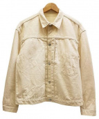 STAMMBAUM(シュタンバウム)の古着「Willlow-1STデニムジャケット」|ホワイト