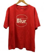 Blur(ブラー)の古着「バンドTシャツ」 レッド