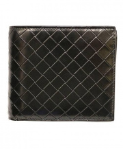 BOTTEGA VENETA(ボッテガヴェネタ)の古着「2つ折り財布」|ブラック