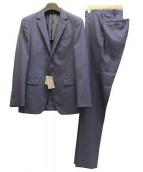 COMME CA MEN(コムサメン)の古着「2Bセットアップスーツ」|ネイビー