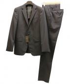 COMME CA MEN(コムサメン)の古着「2Bセットアップスーツ」|ブラック