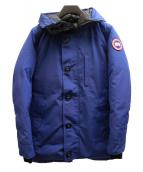 CANADA GOOSE(カナダグース)の古着「JASPERダウンコート」 ブルー