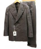 五大陸(ゴタイリク)の古着「ダブルセットアップスーツ」 グレー