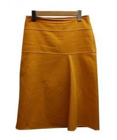 Drawer(ドゥロワー)の古着「スカート」|イエロー