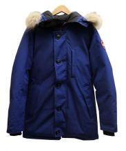 CANADA GOOSE(カナダグース)の古着「JASPER PARKAダウンジャケット」|ブルー