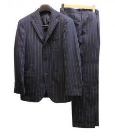 BEAMS F(ビームスエフ)の古着「3Bセットアップスーツ」|ネイビー