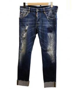 DSQUARED2(ディースクエアード)の古着「SKATER JEAN スケータージーン デニム」|ブルー