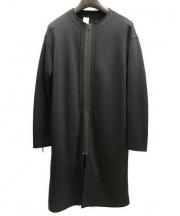 N.HOOLYWOOD(エヌハリウッド)の古着「クルーネックロングジャケット」|ブラック