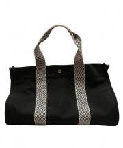 HERMES(エルメス)の古着「キャンバストートバッグ」|ブラック