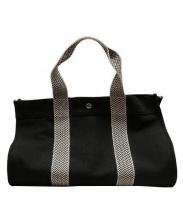 HERMES(エルメス)の古着「キャンバストートバッグ」 ブラック