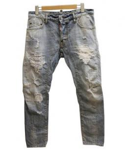 DSQUARED2(ディースクエアード)の古着「TIDY BIKER JEAN デニムパンツ」|インディゴ