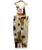 latelier du savon(アトリエ ドゥ サボン)の古着「テキスタイルオールインワン」|アイボリー