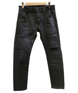 DIESEL(ディーゼル)の古着「THOMMER デニム」|ブラック