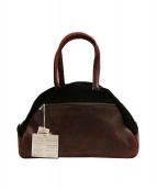 Jas-M.B.(ジャスエムビー)の古着「Small Traveller /ハンドバッグ」|レッド×ブラック