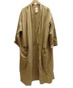 so1:1(ソウワンバイワン)の古着「ネップガウンコート」|ベージュ