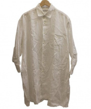 INDIVIDUALIZED SHIRTS(インディビジュアライズド)の古着「BIGリネンシャツ」|ホワイト