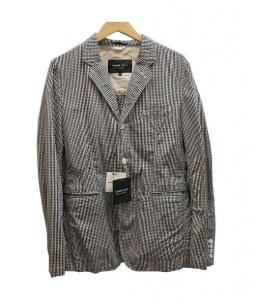 COMME des GARCONS HOMME DEUX(コムデギャルソン オム ドゥ)の古着「テーラードジャケット」 ホワイト×ブラック