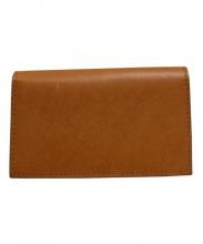 CAMPBELL COLE(キャンベルコール)の古着「SIMPLE SLIM WALLET 財布」|ブラウン