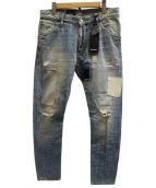 DSQUARED2(ディースクエアード)の古着「CLASSIC KENNY TWIST JEANデニムパンツ」|スカイブルー