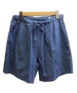 COMOLI(コモリ)の古着「ショートパンツ」|ブルー
