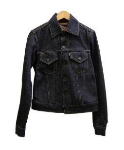 SCYEBASICS(サイベーシックス)の古着「ディタッチャブルカラーデニムジャケット」|インディゴ