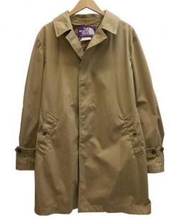 THE NORTH FACE PURPLE LABEL(ザノースフェイス パープルレーベル)の古着「65/35BAY HEAD CLOTH/ステンカラーコート」 ベージュ