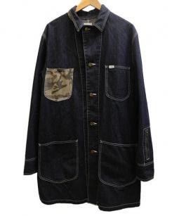 LEE×SOPHNET(リー×ソフネット)の古着「SHOP WORK COAT/カバーオール」 インディゴ