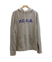F.C.R.B.(エフシーアールビー)の古着「STAR HOOD PULLOVER パーカー」|グレー