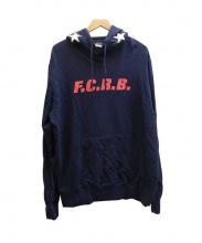 F.C.R.B.(エフシーアールビー)の古着「STAR HOOD PULLOVER パーカー」|ネイビー