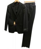 COMME CA MEN(コムサメン)の古着「セットアップ2Bスーツ」|ブラック