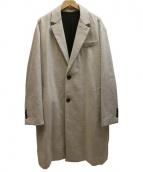 ami(アミ)の古着「2 BUTTONS OVERSIZE COATコート」 グレー