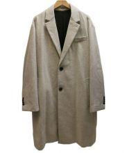 ami(アミ)の古着「2 BUTTONS OVERSIZE COATコート」|グレー