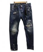 DSQUARED2(ディースクエアード)の古着「CLASSIC KENNY TWIST JEAN デニム」|インディゴ