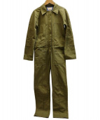Acne(アクネ)の古着「UTILITARIAN JUMPSUITオールインワン」|オリーブ