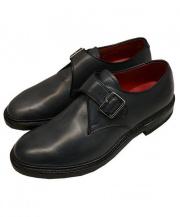 REGAL(リーガル)の古着「Monk Strap Shoes モンクストラップシューズ」 ネイビーグレー