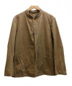 COMOLI(コモリ)の古着「スタンドカラージャケット」 ベージュ