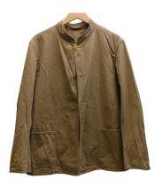 COMOLI(コモリ)の古着「スタンドカラージャケット」|ベージュ