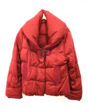 YOSOOU/粧う(ヨソオウ)の古着「ダウンジャケット」|レッド