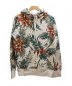 Supreme(シュプリーム)の古着「FloralPulloverパーカー」|ホワイト